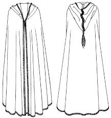 Cape Sewing Pattern Awesome Folkwear 48 Moroccan Burnoose Africa Morocco Cape Wrap Cloak