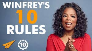 top rules for success according to oprah purpose fairy