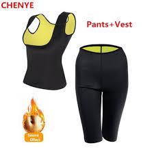 CHENYE <b>Neoprene slimming pants</b> and shirt Body Shapers ...