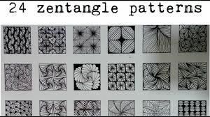 Official Zentangle Patterns Cool Design