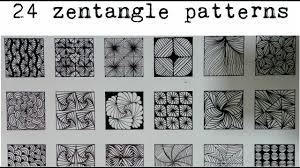 Zentangle Pattern New 48 zentangle patterns 48 Doodle Patterns Zentangle Patterns