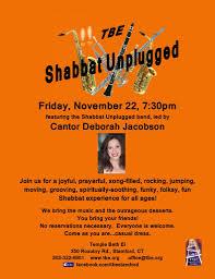 Human By Design Stamford Ct Shabbat Unplugged Temple Beth El