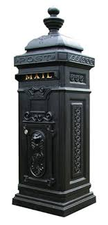 Ecco 8 Tower Mailbox Column Mount Mailbox M49