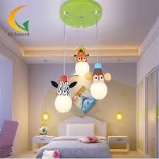 cartoon animal led modern lighting chandeliers baby room highlight led chandelier ceiling kids 110v 220v chandelier in pendant lights from lights lighting