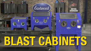 Benchtop Blast Cabinet Blast Cabinets From Eastwood Remove Rust Paint And Corrosion At