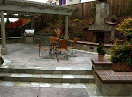 flagstone patio on concrete stamped concrete patio with masonry stone borders flagstone patio cost vs stamped with flagstone patio cost