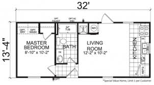 single wide mobile home floor plans. Brilliant Mobile Thrifty  1 Bed  Bath 427 SqFt 14 X 32 Single Wide Economy Priced  Homes With Mobile Home Floor Plans M