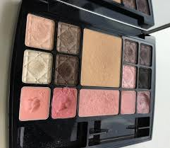 dior travel studio makeup palette collection voyage makeup daily