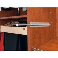 rev a shelf 1 in x 1 5 in x 12 in silver wire valet rod