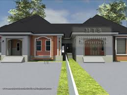 image of 3 bedroom twin bungalow small 3 bedroom house plans in nigeria pic
