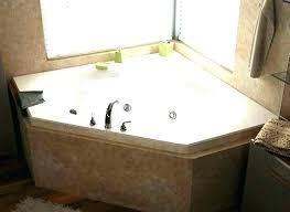 corner whirlpool tub corner tub and shower combo corner tub and shower combo whirlpools jetted bathtubs