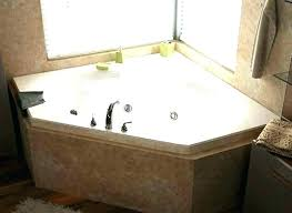 corner whirlpool tub corner tub and shower combo corner tub and shower combo whirlpools jetted bathtubs