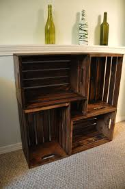 Wooden Furniture For Living Room 17 Best Ideas About Wood Crate Furniture On Pinterest Apartment