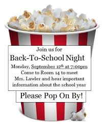 Back To School Invitation Template Back To School Night Invitation Template