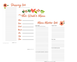 Weekly Meal Planning For One A Completely Basic Guide To Meal Planning On A Budget