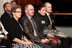 Parents of Lieutenant Timothy O'Donnell, Mary-Anne O'Donnell and Mark...  News Photo - Getty Images