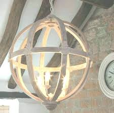 wooden sphere chandelier wood circle chandelier large round wooden orb by cowshed interiors in view home wood circle chandelier