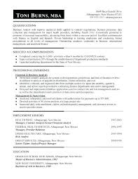 Mba Resume Examples Free Resume Template For Finance Word Download ...