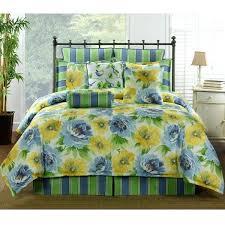 blue fl bedding sets delectably blue and yellow fl bedding comforter or duvet bed set blue
