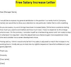 Requesting A Salary Increase Annual Price Increase Letter Template Template Letter