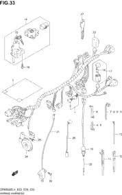 2014 suzuki dr650se oem parts babbitts suzuki partshouse wiring harness dr650sel4 e28