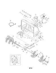 Craftsman model 247881730 snowthrower gas genuine parts rh searspartsdirect mtd snowblower parts numbers mtd 8