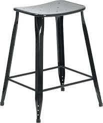 outdoor stool high black metal indoor outdoor counter height saddle comfort stool outdoor wicker counter height