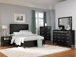 King Bed Bedroom Set Coaster Devine Bedroom Set With Button Tufted Headboard In Black