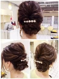 結婚式や二次会にも自分で出来る簡単ヘアアレンジ 与野の髪を
