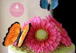 Sugar Paste Cake Decorating To Make A Gumpaste Gerber Daisy A Mcgreevy Cakes Tutorial Youtube