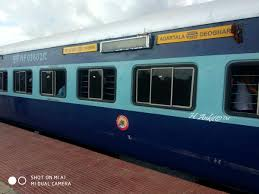 Deoghar Agartala Weekly Express 15625 Time Table Schedule