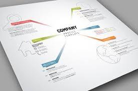 Company Profile Templates Vector Company Profile Template Presentation Templates Creative 2
