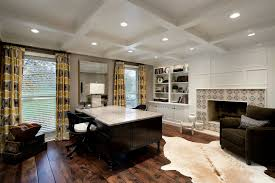 home office two desks. Two Sided Desk Home Office Transitional With Animal Hide Rug Beige. Image By: Abruzzo Kitchen Bath Desks