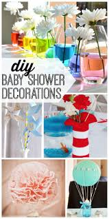 15 DIY baby shower decorations to help celebrate baby's arrival. From a  diaper wreath to