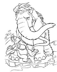Small Picture Kids Under 7 Ice Age coloring pages