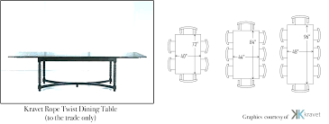 8 person table size round round dining table dimensions table for dimensions 8 person dining room