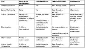 Types Of Business Entities Chart Business Entity Here