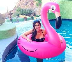 chair pool float giant pink flamingo pool float inflatable swan swimming ring floating bed chair kids and swimming pool toys water fun flamingo