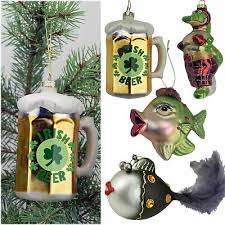 Christbaumschmuck Glas Figuren Verrückte Weihnachtskugeln