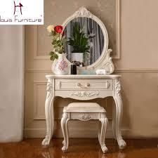 set dresser france style elegant bedroom furniture ivory dressing table with