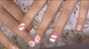 Nail art trends: Negative space, watercolor spirals and more