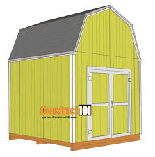 10x10 shed plans gambrel shed roof shingles