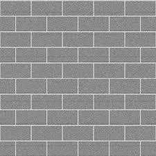 seamless grey concrete brick wall for 3dsmax materials hd