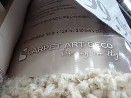 carpet art deco comfort rug 8x10 costco 3
