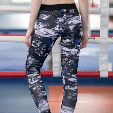 Patterned Yoga Pants Adorable Airbrush Patterned Yoga Leggings Free Shipping Worldwide