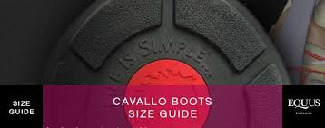 Cavallo Boots Size Guide Equus