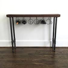 wine rack console table. The \u0026amp;quot;Reserve\u0026amp;quot; Wine Rack Console Table - Reclaimed Wood