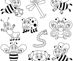 insects coloring pages insect coloring pages free coloring pages insects colouring bugs to print out pictures of beautiful insect coloring pages free