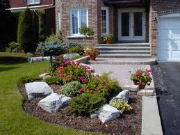 Front Yard: Low Maintenance Front Yard Landscaping Amazing Landscape Small  Garden Photo. | seaportconst