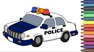 Police Car Images For Coloring Page Kids Youtube In Pages Baby Boom
